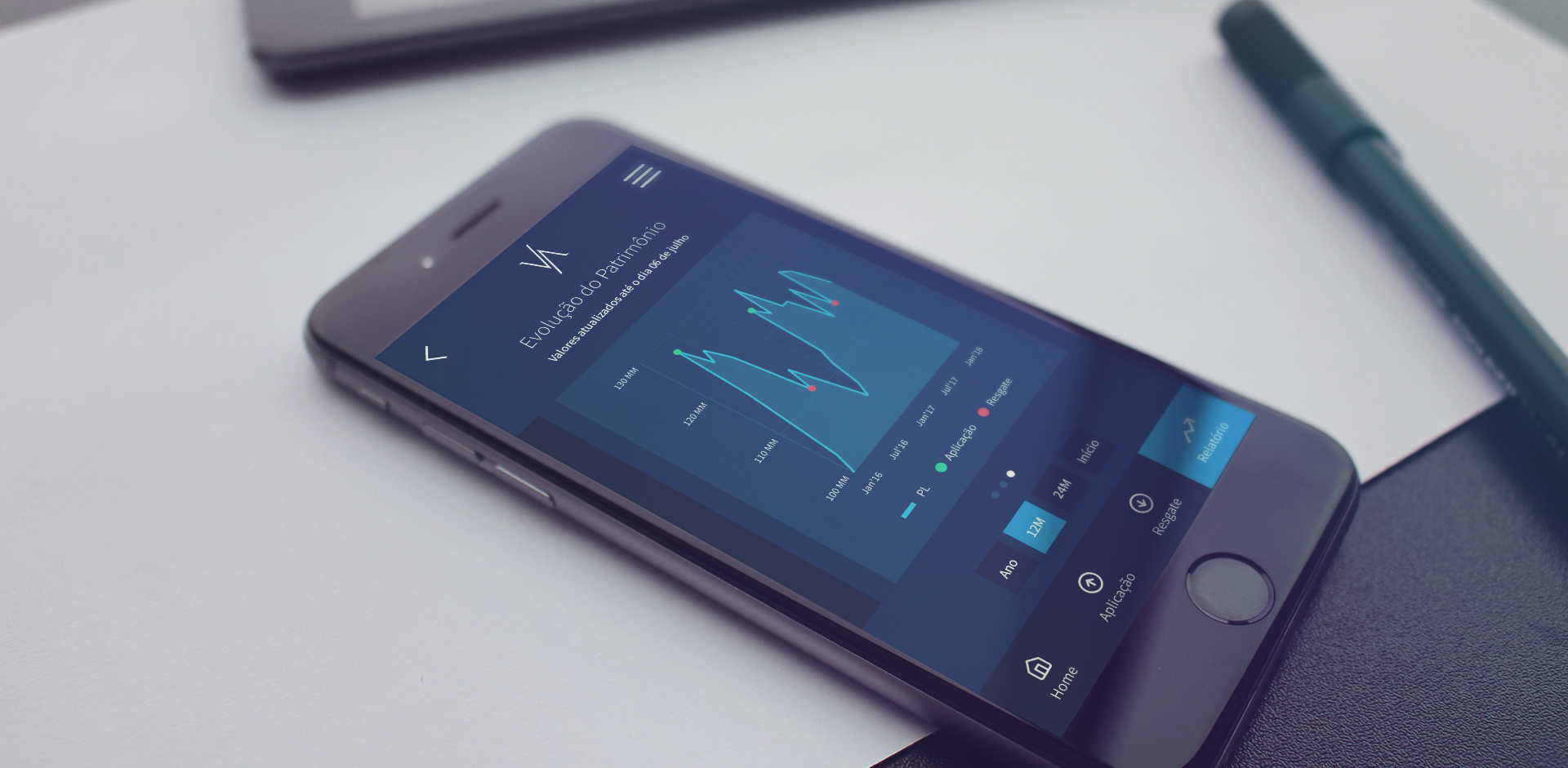 Estudo de Caso: App de investimento se destaca pela usabilidade e design intuitivo