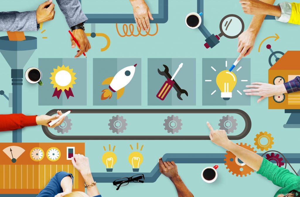 """Linha de produção de inovações e candidatos """"modal 2"""""""