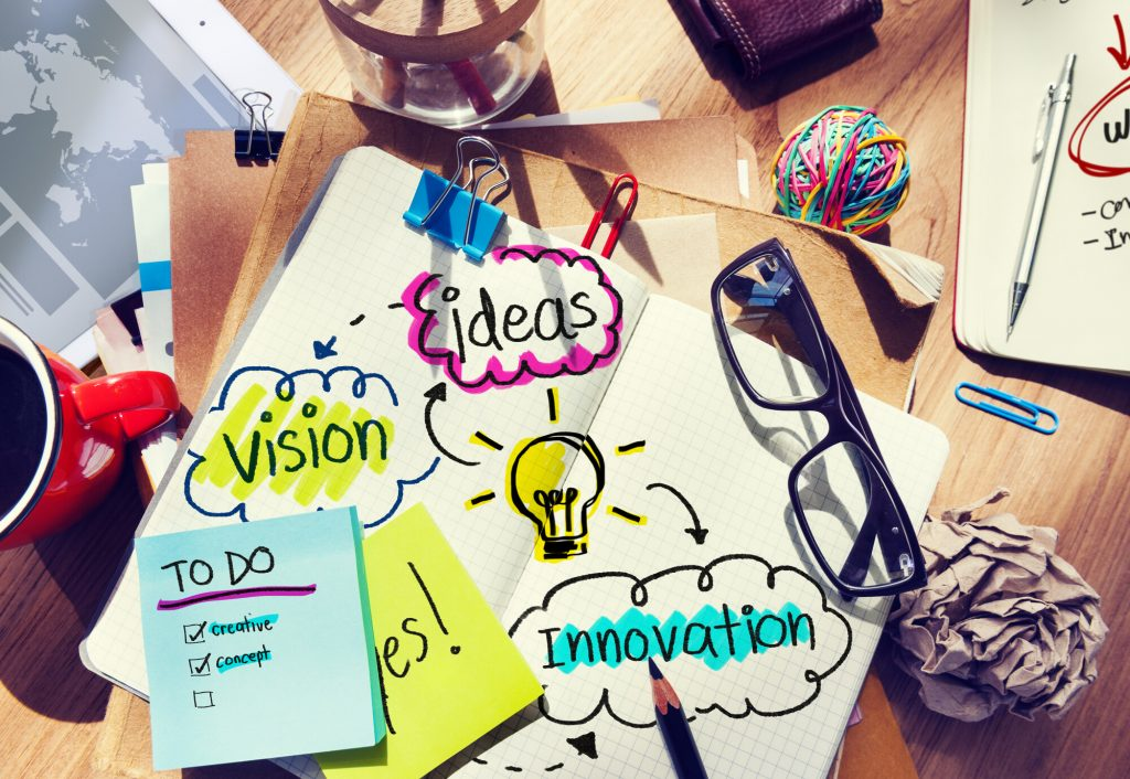 Experimentar novas ideias e inovações